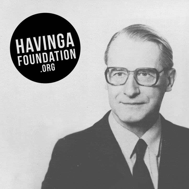 Havinga Fonds webdesign